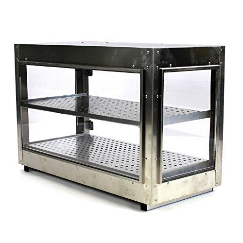 Food Warmer Display Case ~ Commercial v countertop food warmer display case w