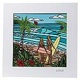 Heather Brown ヘザーブラウン アートプリントサーフシスターズ HB9310P ハワイ 絵画 インテリア