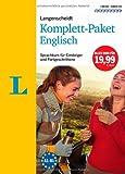Langenscheidt Komplett-Paket Englisch - 3 Bücher mit 8 CDs: Der Sprachkurs für Einsteiger und Fortgeschrittene