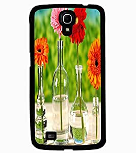 ColourCraft Beautiful Flowers Design Back Case Cover for SAMSUNG GALAXY MEGA 6.3 I9200