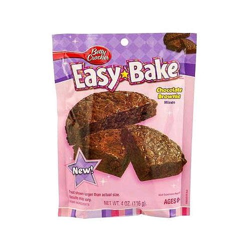 Easy Bake Betty Crocker Chocolate Brownies