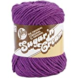 Spinrite Sugar'n Cream Yarn Solids, Black Current Thumbnail Image