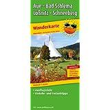 Aue - Bad Schlema - Lößnitz - Schneeberg Wanderkarte 1 : 25 000