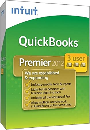 QuickBooks Premier Industry Editions 3-User 2012 [OLD VERSION]
