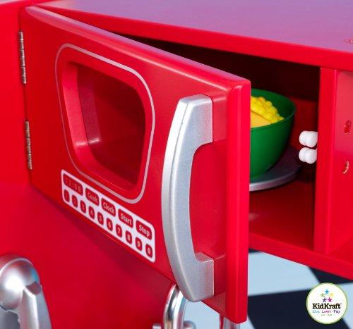 Idee Chambre A Coucher Adulte :   Kidkraft  53173  Jeu dimitation  Cuisine Vintage Rouge Big SALE