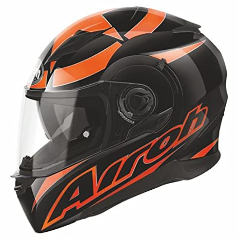 Airoh casque de moto mVSH32 mouvement (orange)