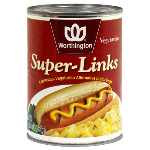 WORTHINGTON LINKS SUPER MSG, 19 OZ (Hot Dog Links compare prices)