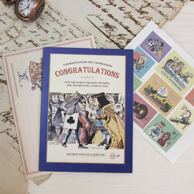 ALICE CARD COLLECTION - Congratulations 37