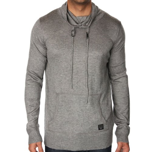 Firetrap Mens Ash Marl Oregon Jumper ASH X-Large
