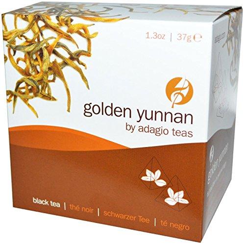 Adagio - Black Tea Golden Yunnan - 15 Tea Pyramid(S)