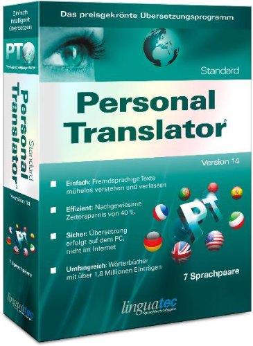 Linguatec Personal Translator 14 Standard