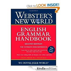 Webster's New World English Grammar