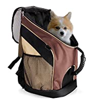 OSIR Dog and Cat Carrier Backpack--PORTABLE, SAFE and CONVENIENCE for Outdoor Activities