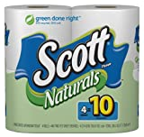 Scott Naturals Bath Tissue (4 Rolls)