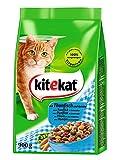 Kitekat Katzenfutter Thunfisch und Gemüse, 5 Packungen (5 x...