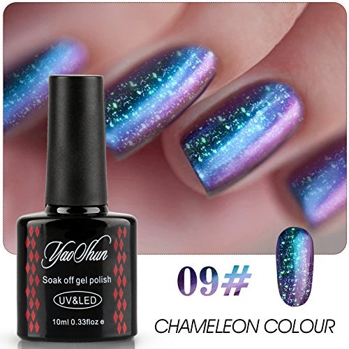 Yaoshun-Brand-Chameleon-Colour-Change-Gel-Nail-Polish-Soak-Off-Lacquer-Metallic-Color-Varnish-UV-LED-Manicure-10ml-007
