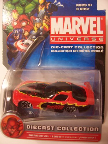 Marvel Universe Die-Cast Collection ~ Daredevil (1998 Dodge Viper GT2) - 1