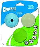 Chuckit! Small Fetch Medley Balls 2-Inch, 3-Pack