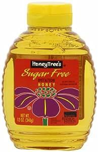 HoneyTree's Imitation Honey, Sugar Free, 12-Ounce Bottles (Pack of 12)
