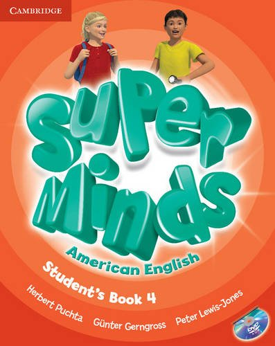 Super Minds American English  4 Student's Book with DVD-ROM