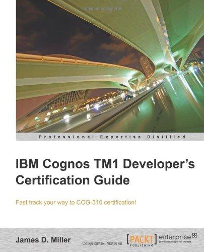 IBM Cognos IM1 Developer's Certification Guide