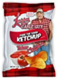 Larry The Cable Guy Tater Chips, Ketchup, 3 Ounce (Pack of 12)