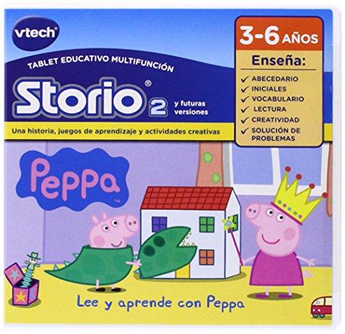 VTech - Juego para Storio 2 Peppa Pig (3480-233422)