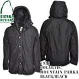Polartec Mountain Parka 7931: Black / Black