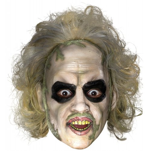 Rubie's Costume Co Beetlejuice Overhead Mask with Hr. Costume