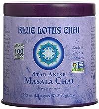 Blue Lotus Star Anise Masala Chai - 3oz Tin (100 cups)
