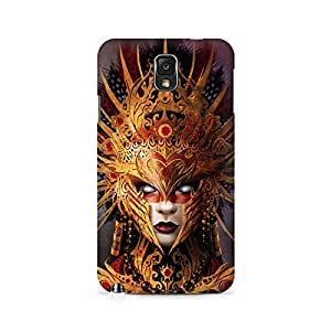 Mobicture Girl Abstract Premium Printed Case For Samsung Note 3 N9006