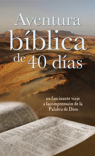 Aventura Bíblica De 40 Días: 40-Day Bible Adventure (Spanish Edition)