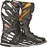 Fly Racing Maverik Adult MX Boots – F4 Black with MX Sole – Size 10 by Leather Factory Outlet