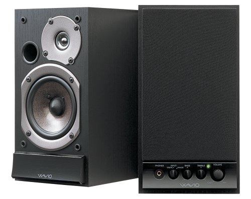 ONKYO GX-D90(B) WAVIO アンプ内蔵スピーカー 15W+15W ハイレゾ音源対応 ブラック
