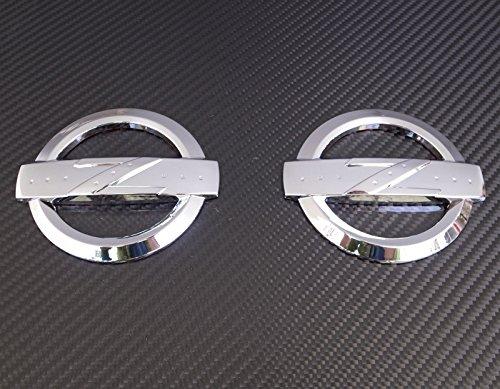 JDM CHROME Z EMBLEM X2 FOR 2003-2008 NISSAN 350Z (Nissan 350z Nismo Intake compare prices)