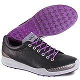 Ecco Men's Biom Hybrid golf shoes - Black/Imperial Purple 56405