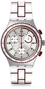 Swatch YCS1012 Irony Chrono Speed Counter Watch
