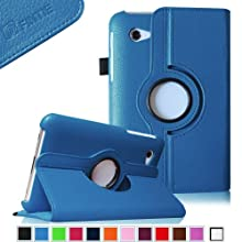 Fintie (Blue) 360 Degrees Rotating Stand Case Cover For Samsung Galaxy Tab 2 7.0 Inch Tablet -- Multiple Color...