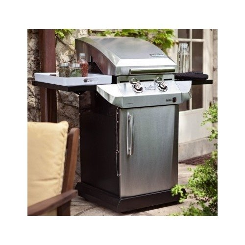 Propane Gas Grills. The Char-Broil Performance T-22D TRU-Infrared 340 is a Small Propane Gas Grill Perfect For Small Patios or Outdoor Spaces. This natural gas barbecue grill features a combination of infrared and open-flame heat for perfect BBQ flavor.