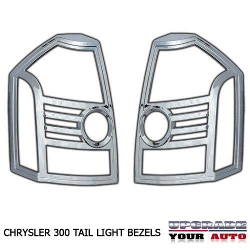 2008 2010 Chrysler 300 Chrome Tail Light Bezels