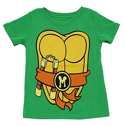 Teenage Mutant Ninja Turtles Unisex-child Costume T-Shirt