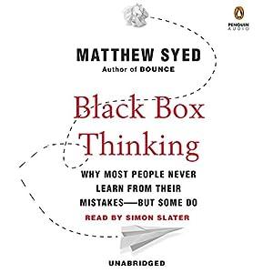 Black Box Thinking Audiobook