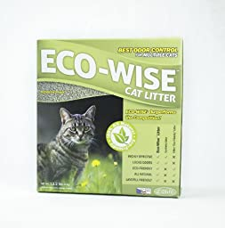ECO-WISE Odor Control Cat Litter (6 kg)