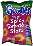 Organix Goodies From 12 Months Organic Spicy Tomato Stars 15 g (Pack of 24)