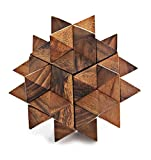 Giant Star Puzzle - Extra Large Wooden Brainteaser