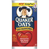 Quaker Oats Oatmeal, Old Fashioned, 42-Ounce Containers (Pack of 4) ~ Quaker