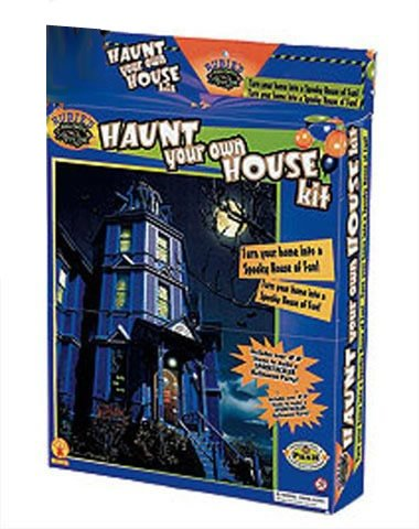 Rug making latch hook complete haunted house kit for Complete home building kits