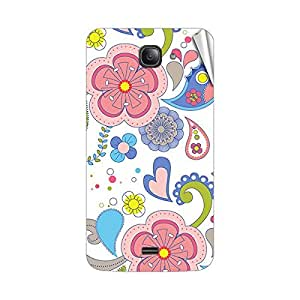 Garmor Designer Mobile Skin Sticker For Intex Aqua R3 - Mobile Sticker