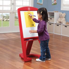 Magnetic dry-erase board builds fine motor skills
