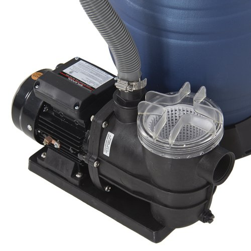 best choice products pro 2400gph 13 sand filter above ground swimming pool pump 10000gal
